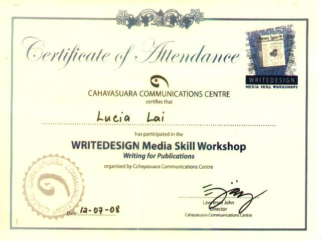 Sample certificate of workshop attendance choice image certg 640480 workshop certificates pinterest certificate yadclub yadclub Images