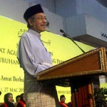 Dr M, the Father of Re-colonisation