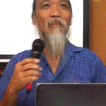 talk by activist bk ong, who was recently deported from sarawak