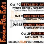 freedom film fest 2011