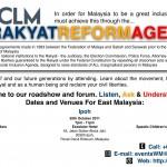 rakyat reform agenda forum coming to penang