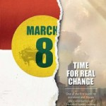 march 8: time for real change